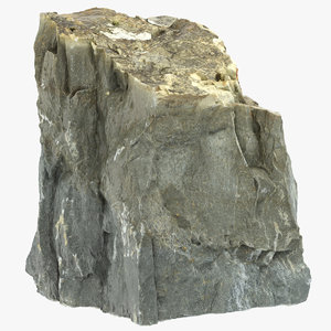 3D mountain rock 22