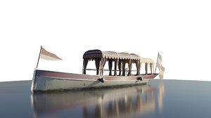 passenger boat 3D