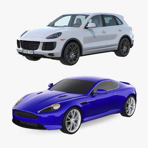 3D model luxury cars