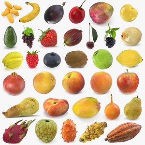 3D fruits 8