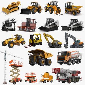 industrial vehicles big 2 3D model