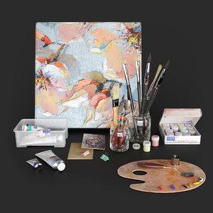 artist set 2 3D