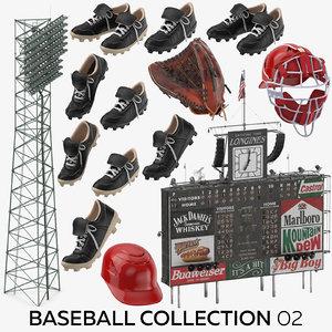 baseball 02 3D