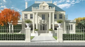 house chicago 3D model