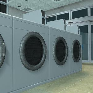 3D laundry store