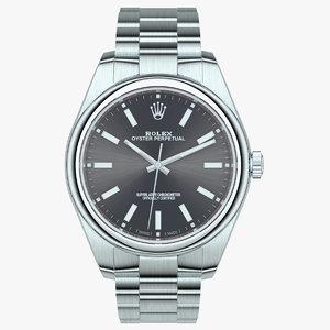 3D watch luxury