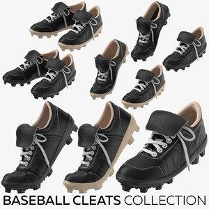 baseball cleats 3D