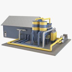 3D industrial equipment 6