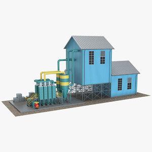 3D model industrial element 12