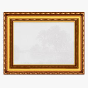 3D frame picture v10 model