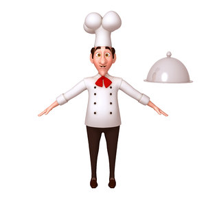 chef cartoon 3D
