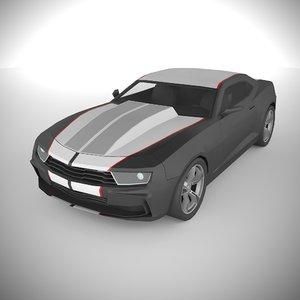 polycar n86 lp1 cars 3D model