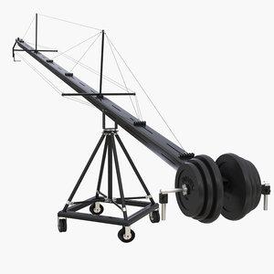 camera crane 3D