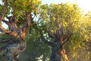 tree hd 3D model