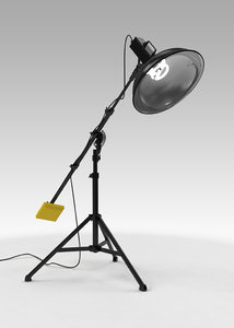 photography light stand 3D