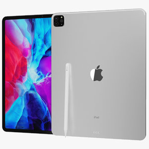 realistic apple ipad pro 3D model