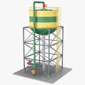 water tank 1 model