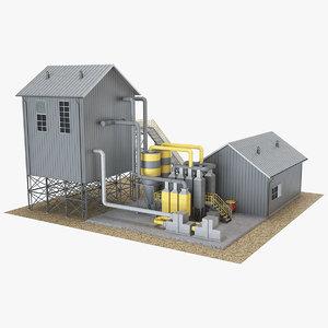 industrial building 20 3D model