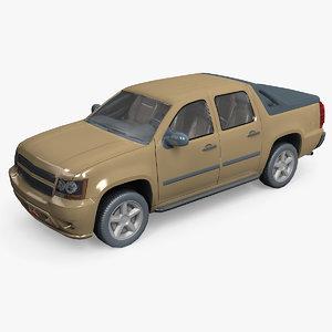car pickup 3D model