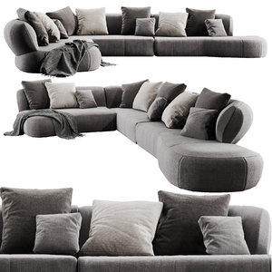3D molteni surf sectional model