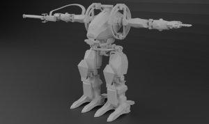 avatar amp suit exoskeleton 3D model