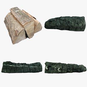 wood log 3D