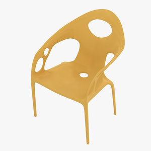 moroso supernatural chair 3D model