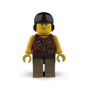 3D lego toy model