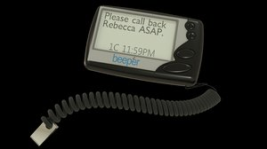 beeper pager model
