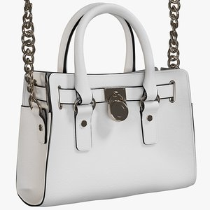 realistic women s bag 3D model