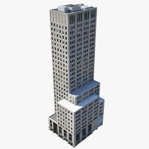3D model building modeled