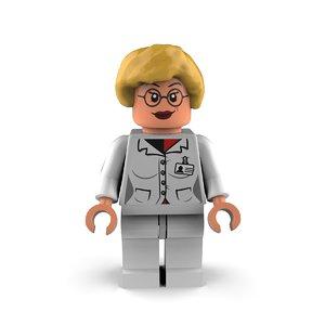 harley quinn 3D model