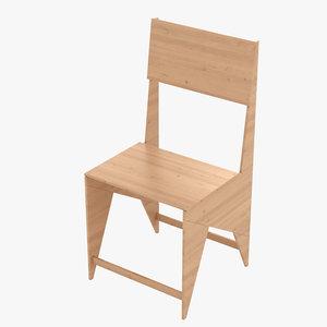 monoqi chair 3D model