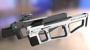 modern fn p90 3D model