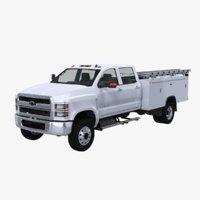 2020 Chevy Silverado Service Truck