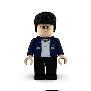 3D harry lego