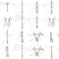 Electricity Pole Weathered Pack