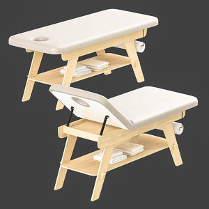 massage couch 3D model