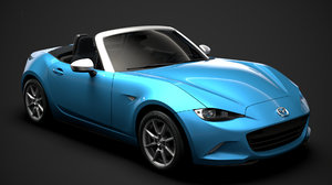 3D mazda mx 5 arctic model