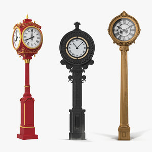 new york street clocks model
