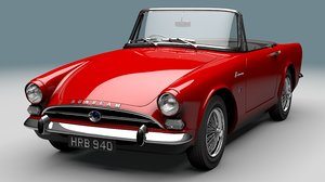 sunbeam alpine 3D model