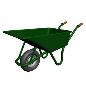 wheelbarrow 3D