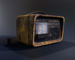 3D power charger - pbr