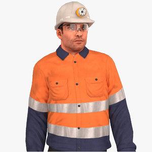 miner rigged 2020 4k 3D model