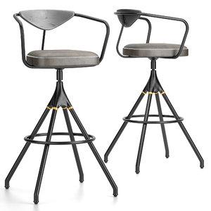 3D stools akron model