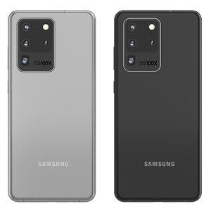 3D model samsung galaxy s20 ultra