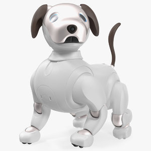 sony aibo 2017 robotic 3D model