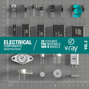 3D electrical component model