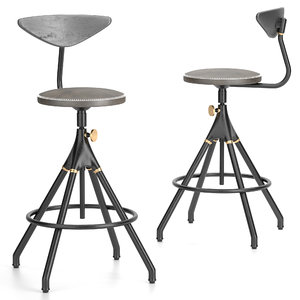 stools akron backrest model