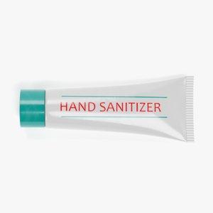 3D hand gel tube